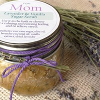 four (yummy) sugar scrub recipes & FREE labels | Mother's Day gift idea