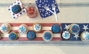 patriotic wood tray