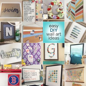 Easy DIY Wall Art Ideas