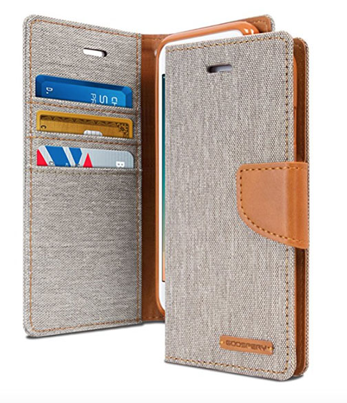 goospery wallet style iPhone case
