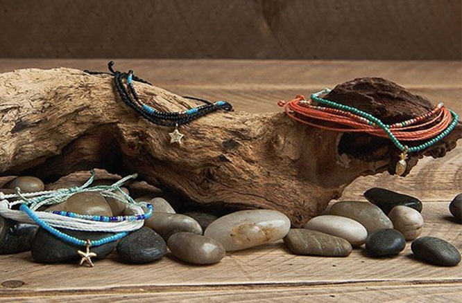 handmade jewelry from pura vida and a discount