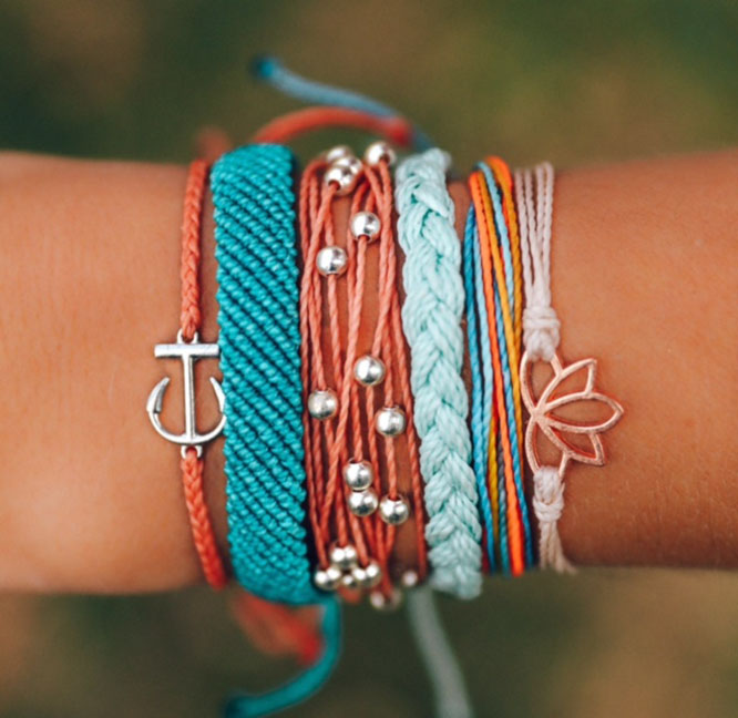my favorite jewelry from Pura Vida