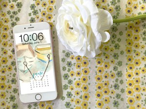 FREE digital backgrounds for June