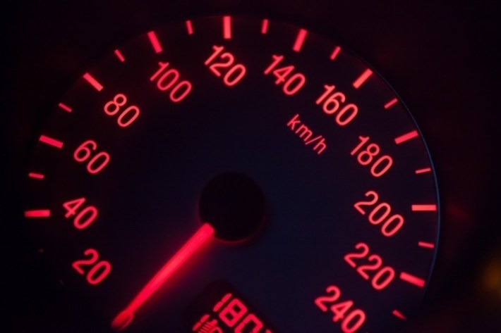 close up of speedometer in vehicle interior | GrecTech