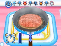 Ecco un hamburger in Cottura!