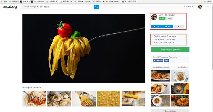 2017-12-07 16_02_21-Foto gratis_ Spaghetti, Pasta, Tagliatelle - Immagine gratis su Pixabay - 293184