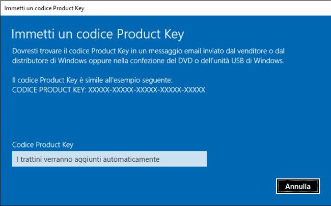 cambiare edizione windows 10 02 | GrecTech