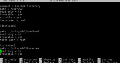 Come condividere una cartella con Samba in Ubuntu Server