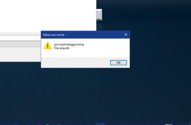 Errore File Esauriti su Windows 10.