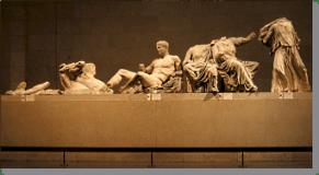 The Parthenon Marbles, east pediment