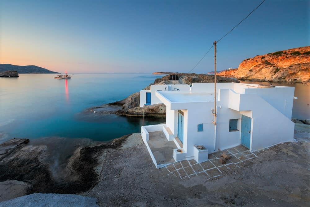 Goupa karas traditional seaside settlement in. A Complete Guide To Kimolos Island Greece Greece Travel Secrets