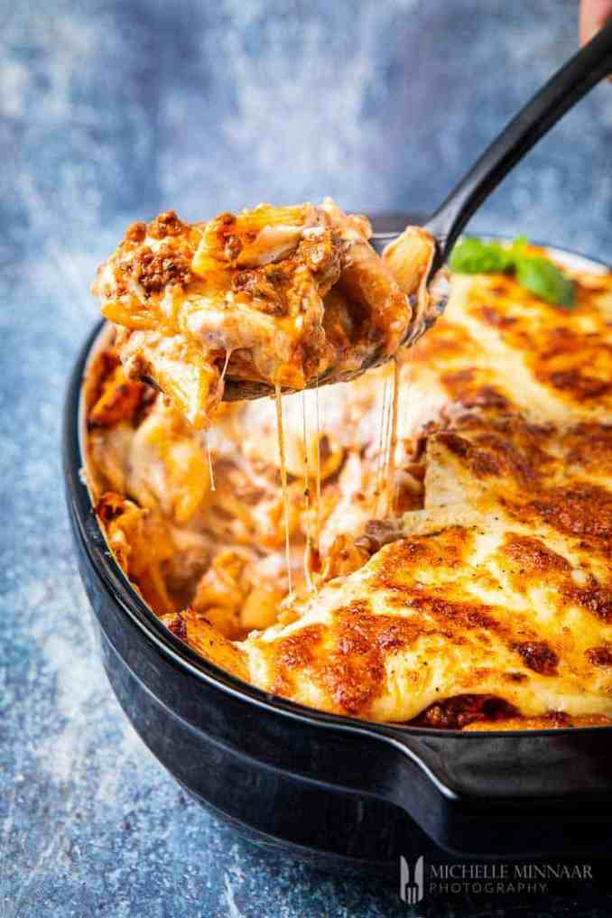 Bolognese Pasta Bake - A Cheesy, Comforting & Easy-to-make