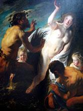 Pan, the God of the Shepherds in greek mythology