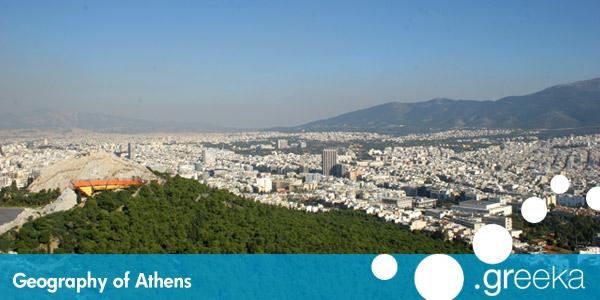 Geography Of Athens Greece Greeka Com