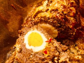 Easter Meat Roll