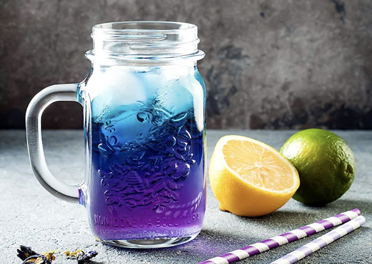 Keto Ice tea - A blue idea from another planet 1