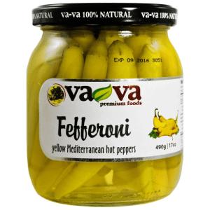 Mediterranean hot fefferoni peppers