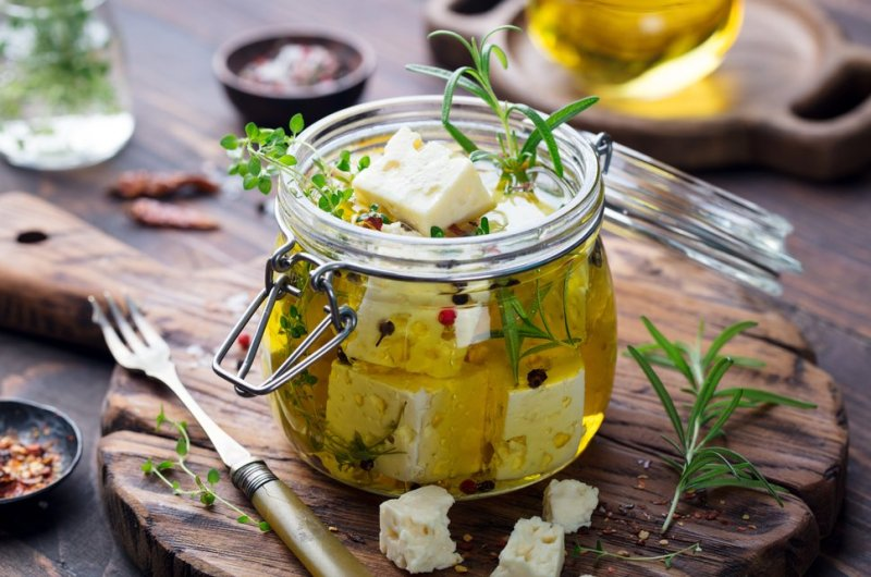 "Greek Feta in a homemade marinade - Another level of Ketonian ""Gourmetism"""