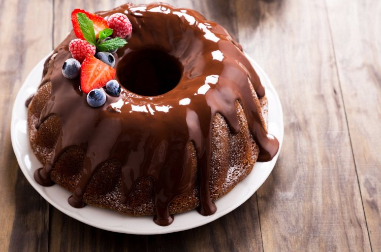 Flourless Keto Chocolate Bundt Cake