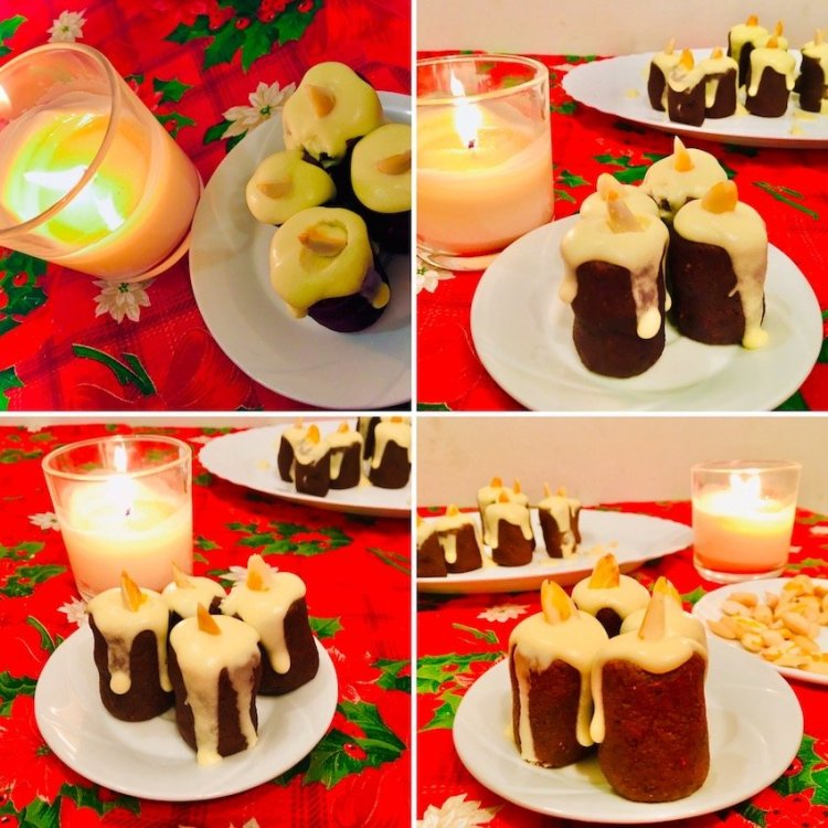 Edible Keto candles - make this Christmas a bit funky and powerful! 1