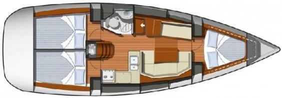 Jeanneau Sun Odyssey 36i Sailing Yacht