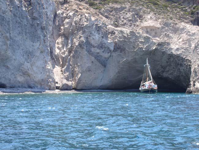 Παραλία Επιτάφιος, Αντίπαρος