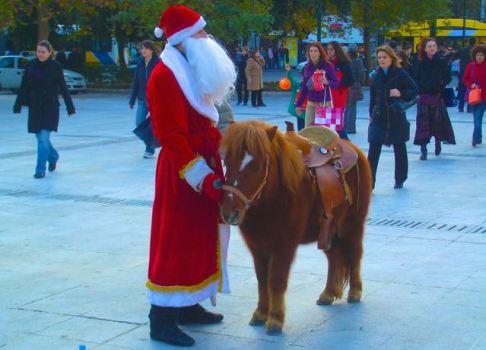 Athens Santa