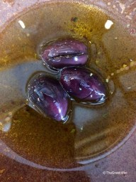 Kalamata olives in extra virgin olive oil