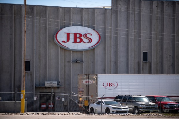 JBS USA plant in Greeley