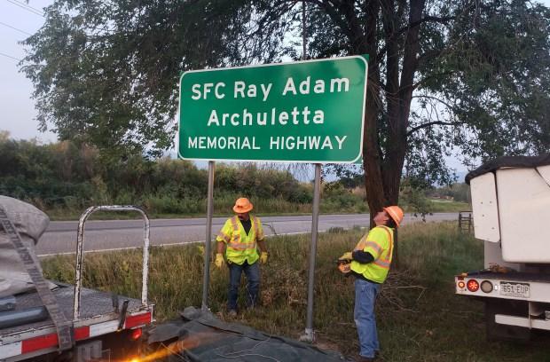 Sergeant First Class Ray Adam Archuletta
