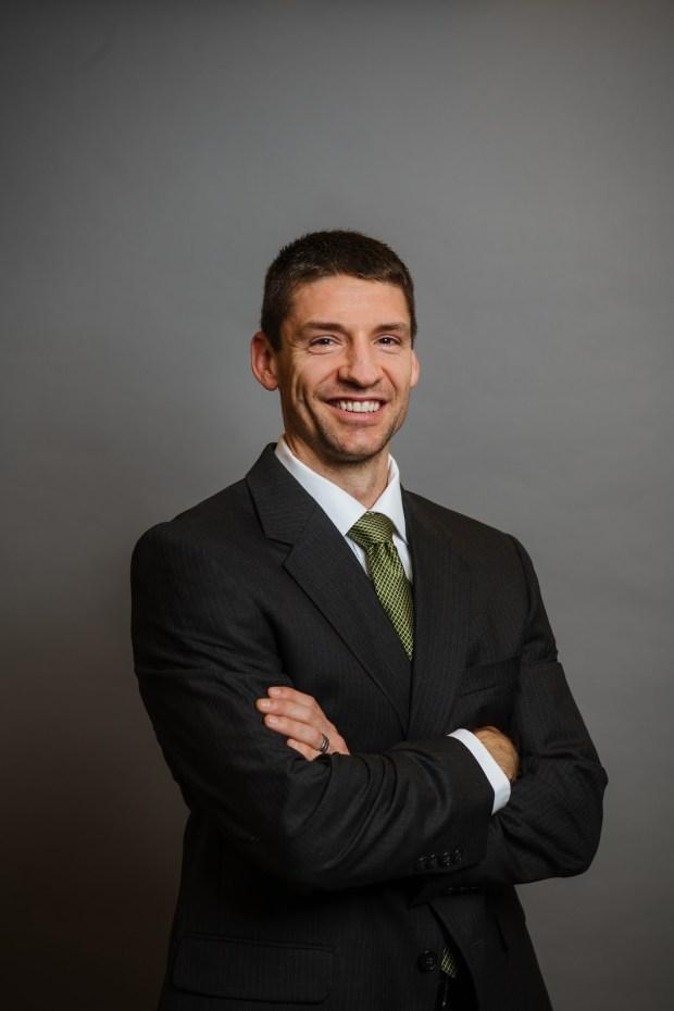 Dr. Jeffrey Ebel (Courtesy/Orthopaedic & Spine Center of the Rockies, .otm)