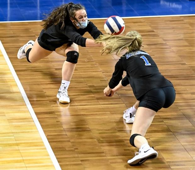 Dayspring Christian Academy vs. Sedgwick County 2A girls volleyball quarterfinal