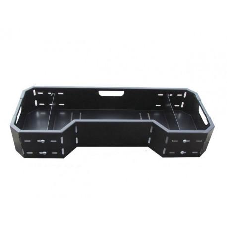 universal cargo box atv rack front rear
