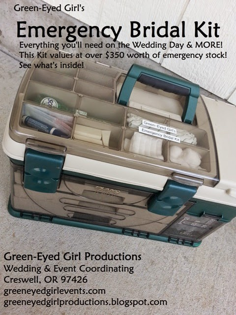 A Wedding Planner's Cargo {What we bring with us}