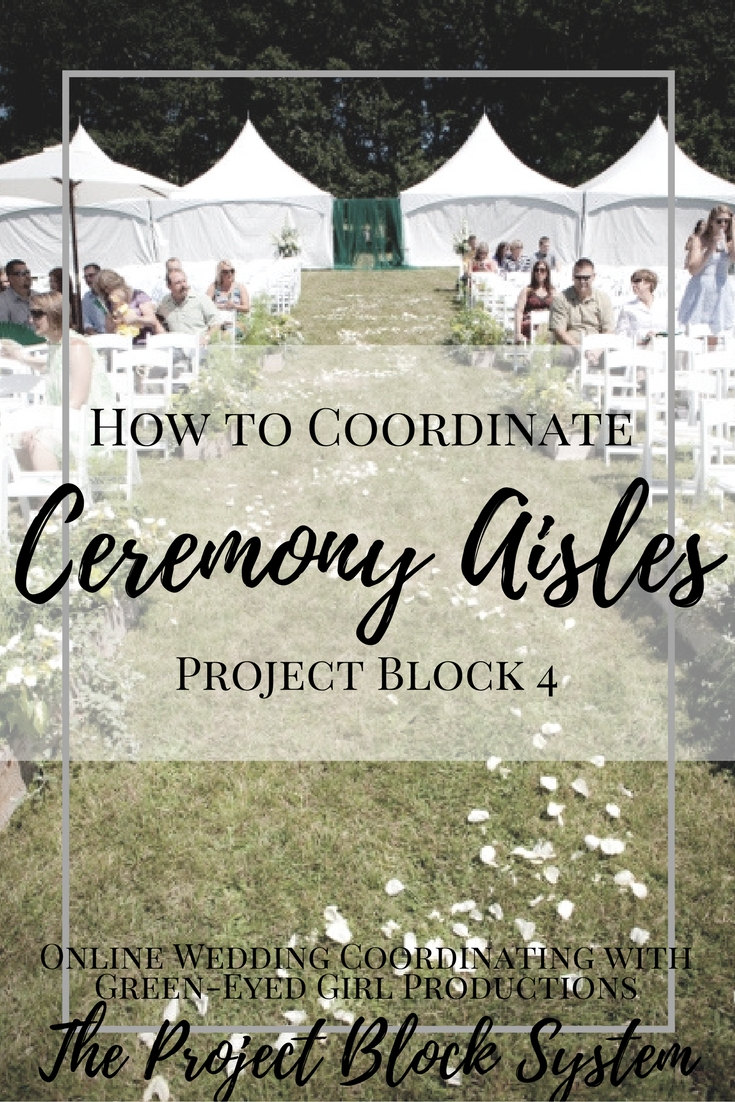 How to Coordinate Ceremony Structure | Project Block 4