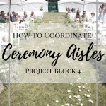 How to Coordinate your Wedding Ceremony Aisle and Structure. Wedding Planning how to How to plan your wedding