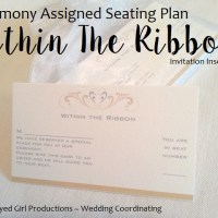 Assigned Ceremony Seating | Within The Ribbon