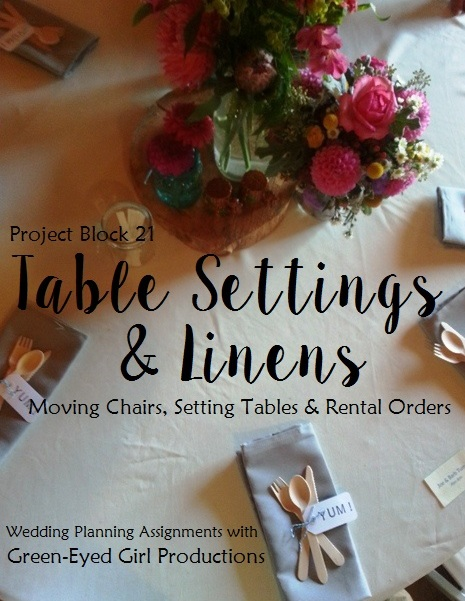 Table Settings & Linens {Project Block 21}