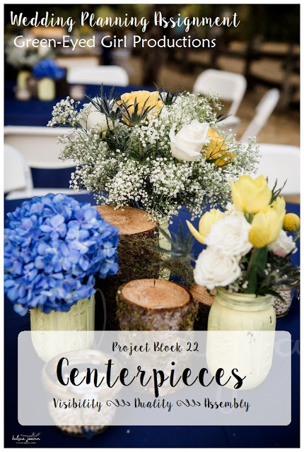 Wedding Centerpieces Checklist {Project Block 22}