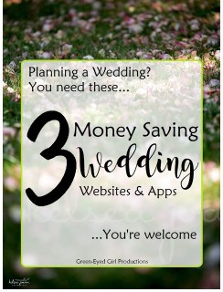 3 Ways to save money planning your wedding and making money back AFTER from Green-Eyed Girl Productions How to Save Money Planning a Wedding Online Wedding Planning on A Budget. Wedding Tips