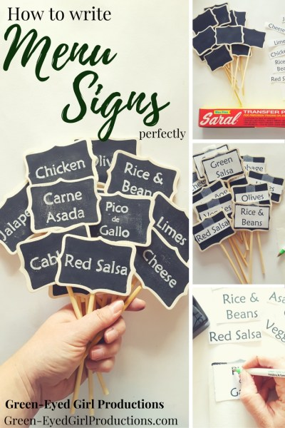 How to Write Perfect Wedding Menu Signs. Buffet Tags, Wedding Signage. Chalk Writing for Weddings