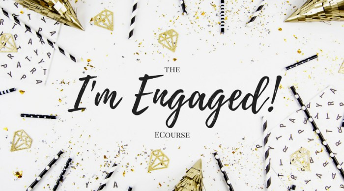 The I'm Engaged ECourse