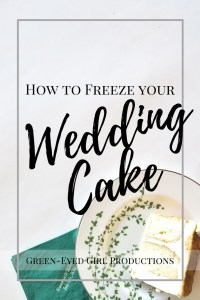 How to Freeze Your Wedding Cake. What you need to freeze your wedding cake. Top Tier Wedding Cake. Wedding Cake Top Tier How to Freeze.