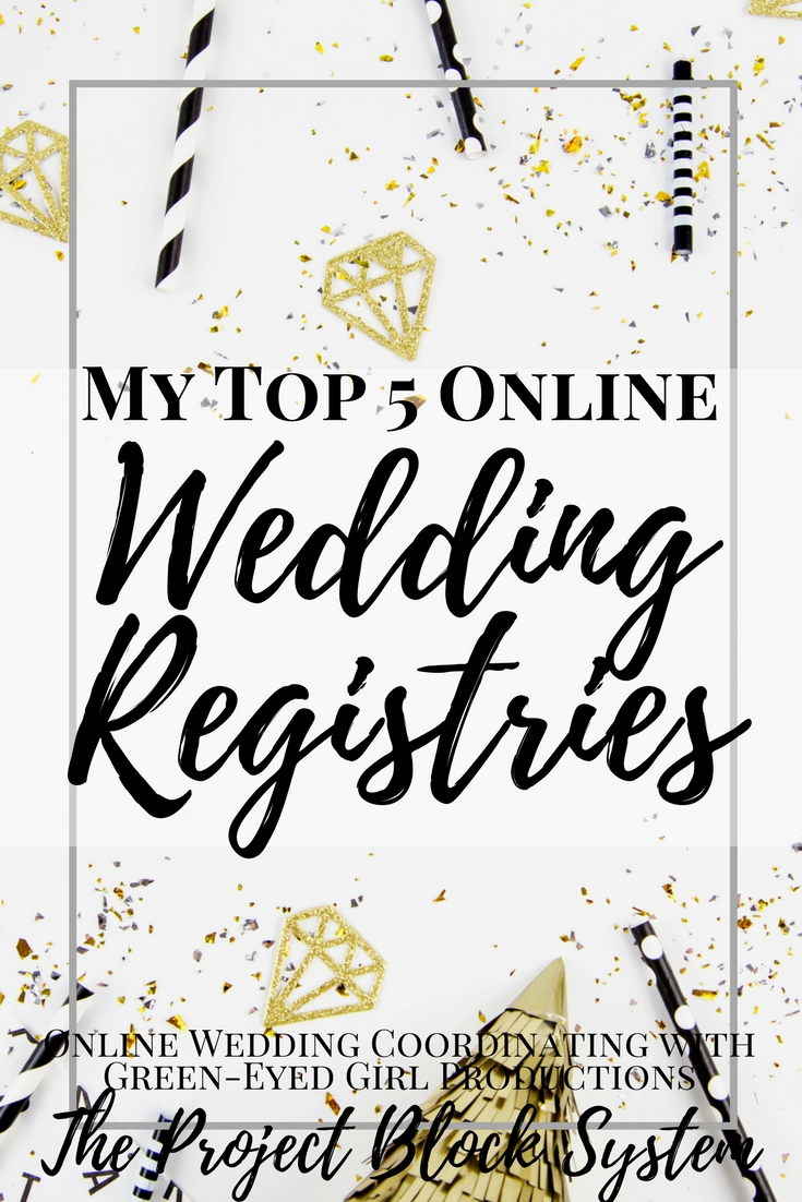 my top 5 online wedding registries where to register
