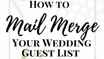 da955f4c72 How to Make Your Wedding Guest List Spreadsheet  Free Download ...