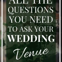 Wedding Venue Contract Review | All the Questions to ask your Wedding Venue