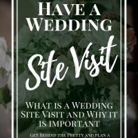 How to Have a Wedding Site Visit