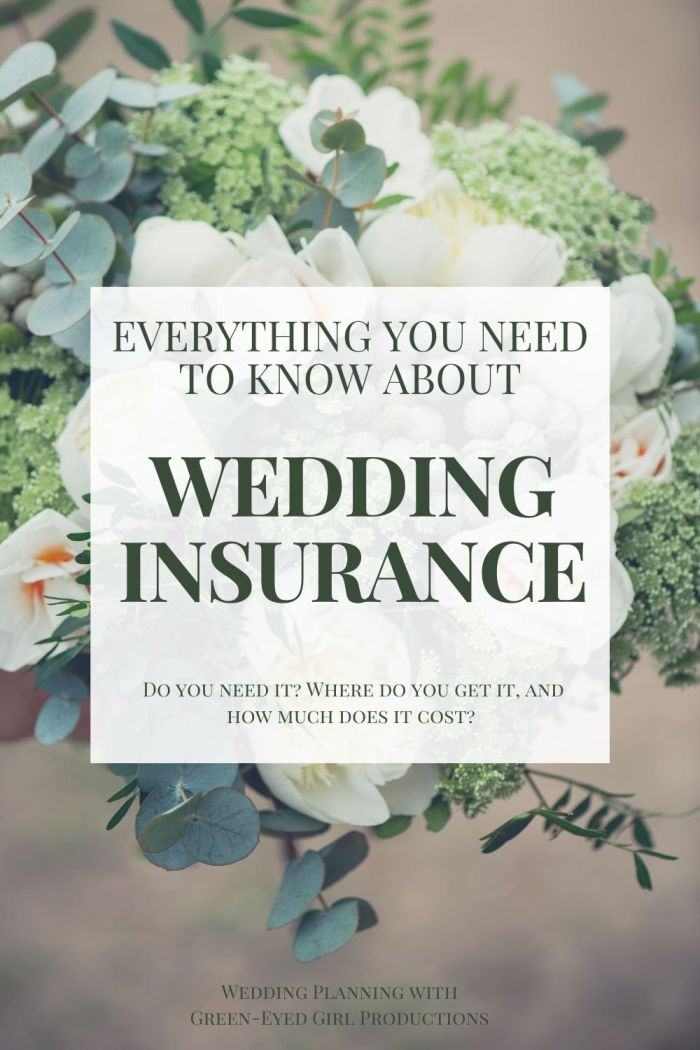 Do you really need to buy Wedding Insurance for your Wedding Day? YES! It's one of the first things you should do while planning a wedding. Here is Everything you need to know about Wedding Insurance from What it covers to how much it costs. You'll want Liability Insurance AND Cancellation Insurance.