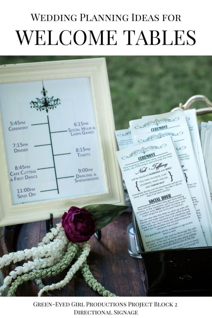Wedding Programs have so much great information in them you'll want them for your wedding day.  . Your Wedding Welcome Entrance is the first thing guests see when they arrive on your big day. In this post I'm covering Wedding Welcome Sign Ideas, Fun Ceremony Props to give to guests and more Wedding Welcome Entrance Decor.