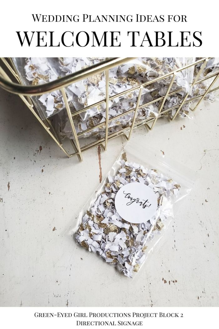 Biodegradable Wedding Exit Toss Confetti is a fun way to get unique Wedding Ceremony Pictures!  . Your Wedding Welcome Entrance is the first thing guests see when they arrive on your big day. In this post I'm covering Wedding Welcome Sign Ideas, Fun Ceremony Props to give to guests and more Wedding Welcome Entrance Decor.